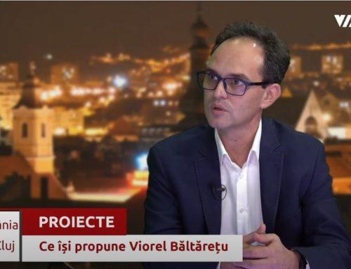 Cine este Viorel Băltărețu, candidat al USR PLUS la Camera Deputaților – VIA TV Cluj Napoca