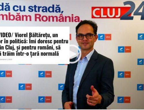 Viorel Băltărețu, un antreprenor în politică – Cluj24.ro