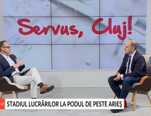 Interviu Servus, Cluj! cu Aaron Ciprian – Infrastructura județului nostru
